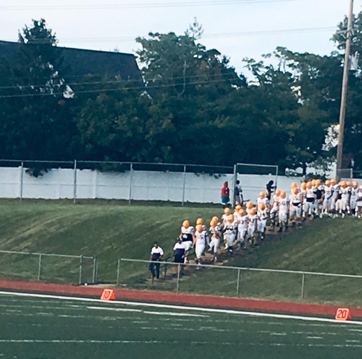Always love watching the team walk into the battle! #PurpleReign