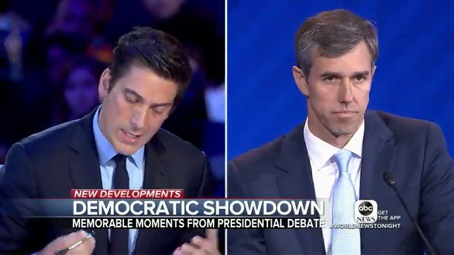 DEMOCRATIC SHOWDOWN: @marykbruce is in Houston with the highlights from the @ABC news Democratic debate and reaction from frontrunner Joe Biden about those tense moments with fellow candidate Julián Castro. https://abcn.ws/2lPZoSl  #DemDebate