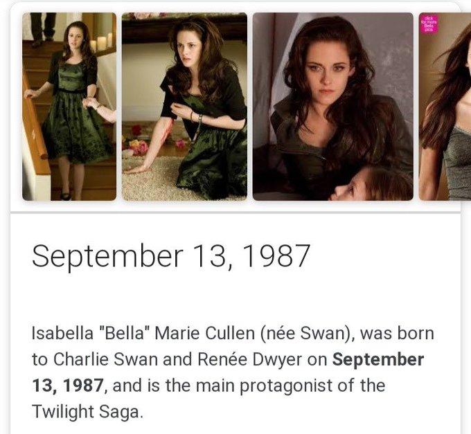 HAPPY BIRTHDAY BELLA SWAN!!!!