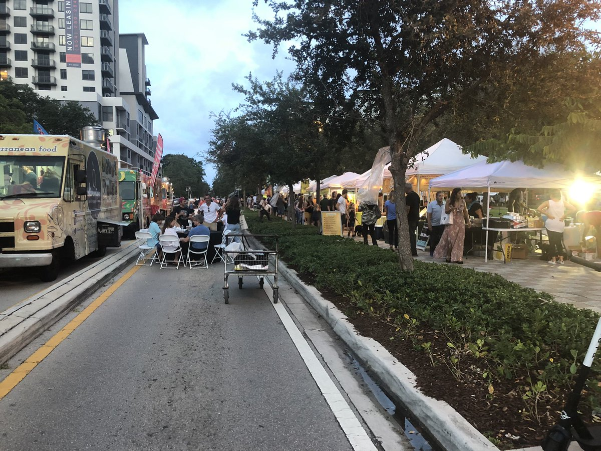 Great food at the #FoodInMotion event at the Peter Feldman Park in #FlaglerVillage #FortLauderdalepic.twitter.com/PyWW2QVzxy – at Peter Feldman Park
