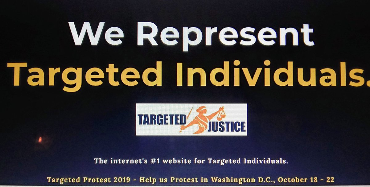 Honored to join the advisory board of #TargetedJustice - people doing something about one of the greatest abuses today.  The rule of law requires transparency and accountability regarding invisible surveillance + weaponry that can compromise our entire being.