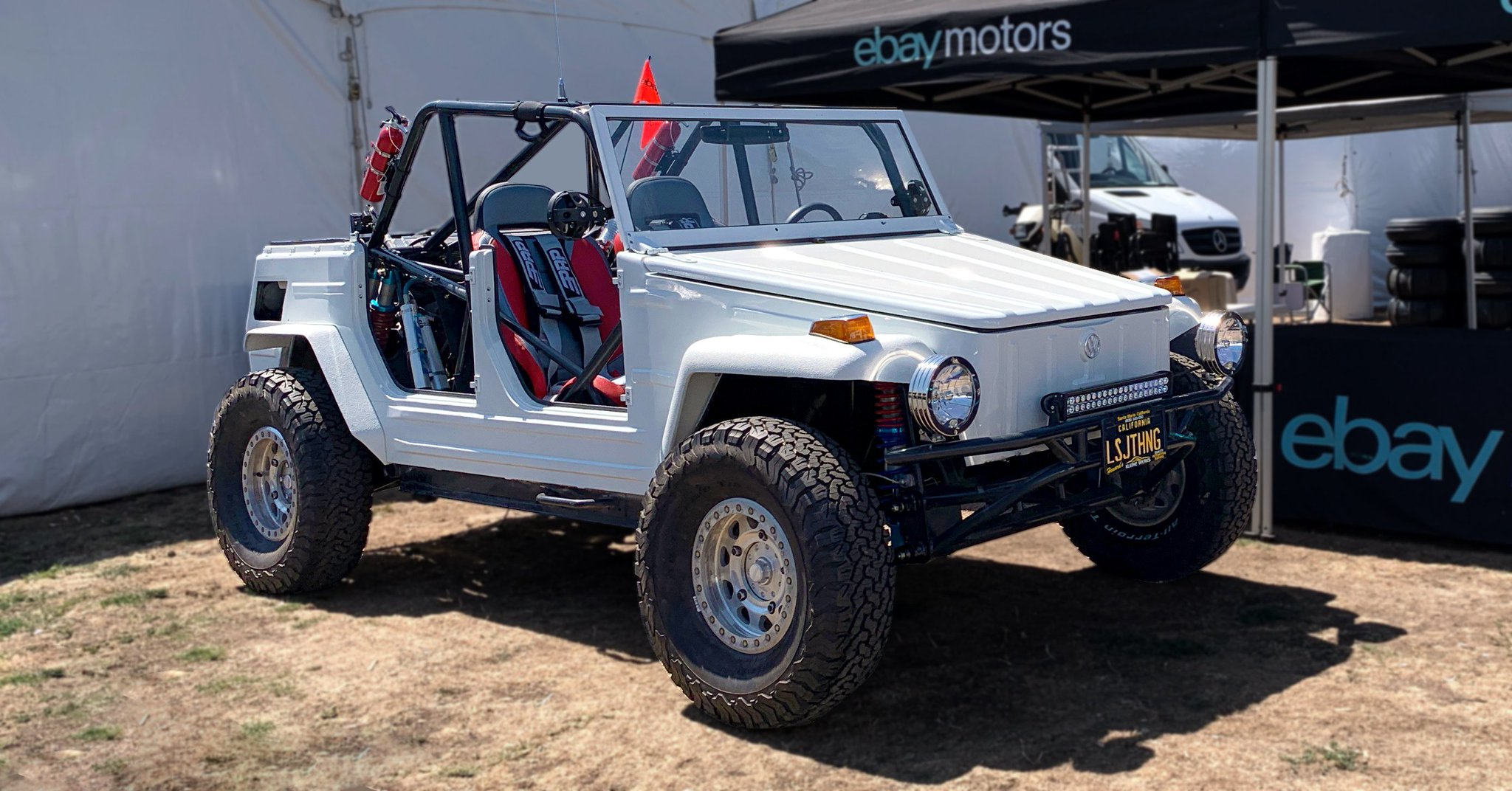 Ebay On Twitter Ebaymotors Is Onsite At The Sandsportss In Costa Mesa Ca This Weekend Stop By Booth Os 916 To Talk Sandsports Get Swag And See A Custom 1974 Vw Thing Restored