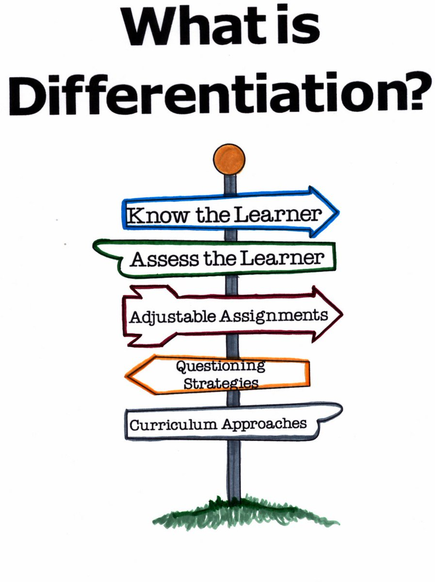 What does Differentiation look like in your classroom? Your answer matters.
