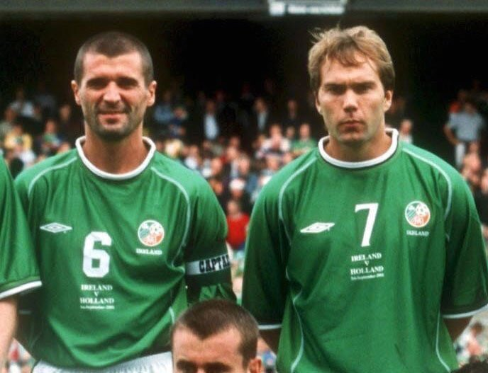 """""""Roy (Keane) likes talking about his medals. At the end of the day you can't take the medals down the pub and have a pint with them. They don't talk back to you. I'd rather have a couple of mates than a couple of medals, to be honest."""" - Jason McAteer [F365]"""
