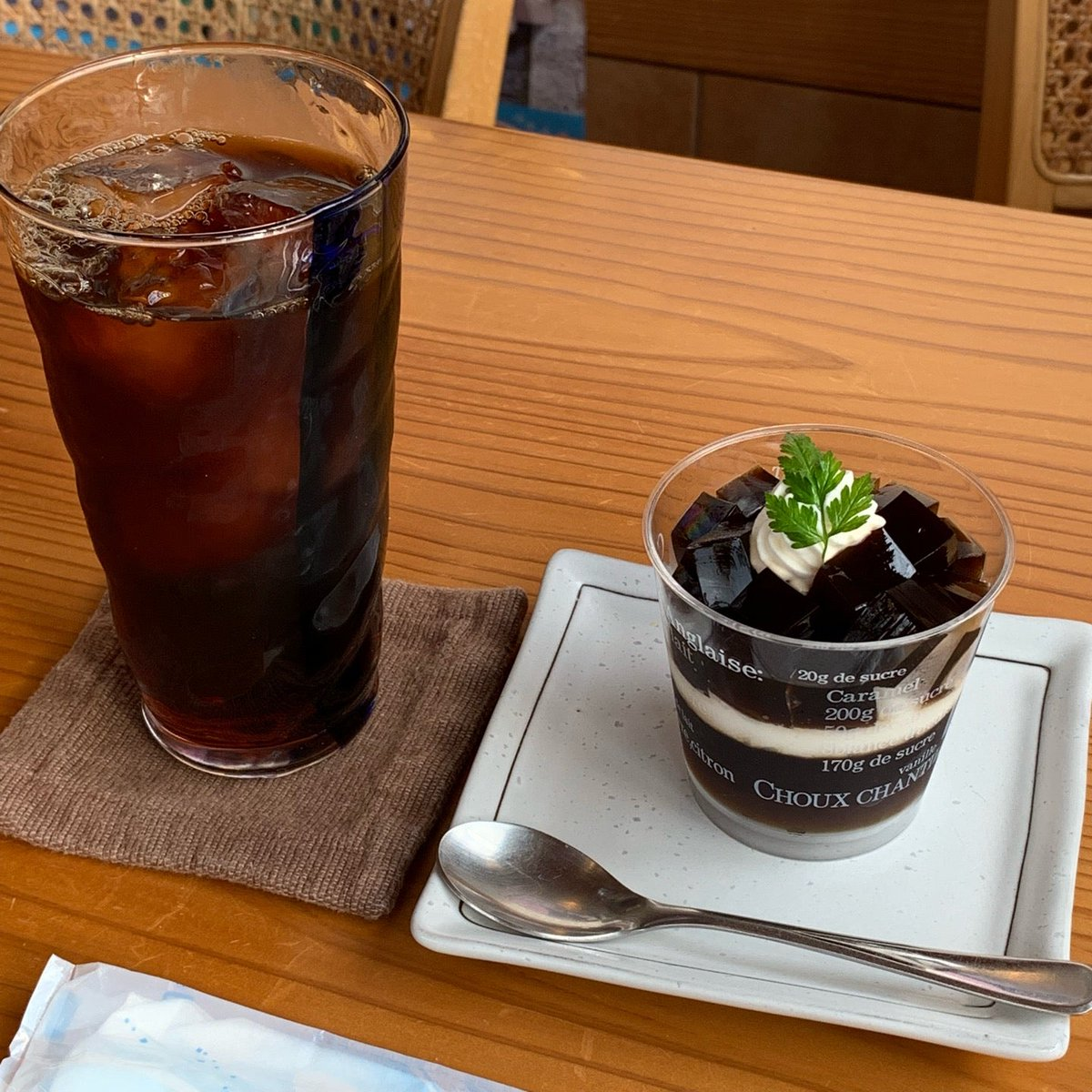 松月(2)コーヒーゼリー