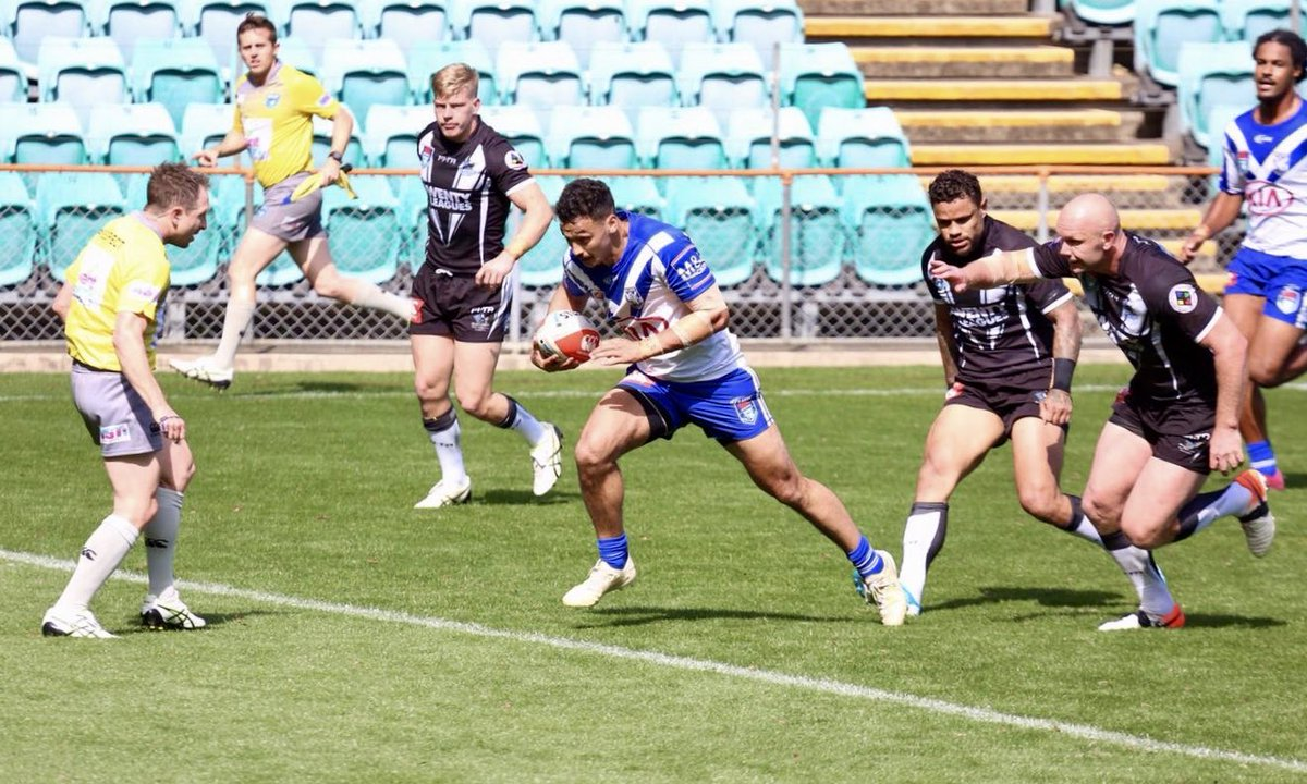 💼 Plenty of work to do in the second 40 as we trail @wentymagpies 20-6. 📝 bit.ly/CCUPMAGBUL #CanterburyCup