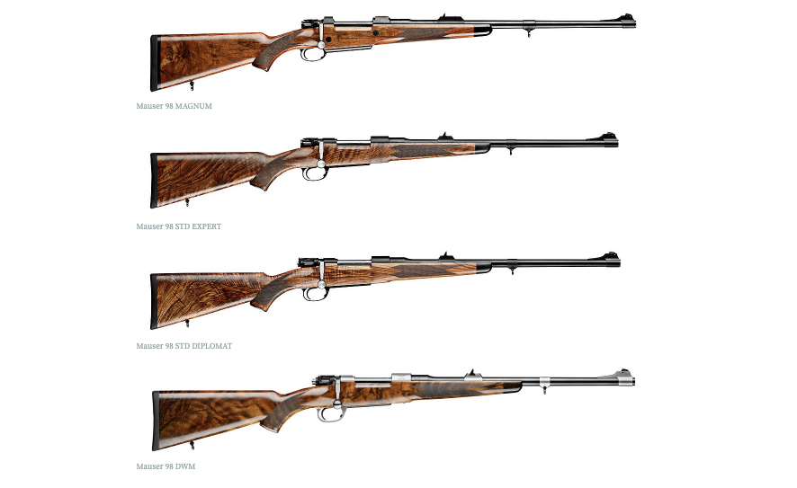 """Mauser USA on Twitter: """"The entirely new MAUSER 98 line is not only a  unique combination of technology and craftsmanship, but a true commitment  to our roots as the birthplace of the"""