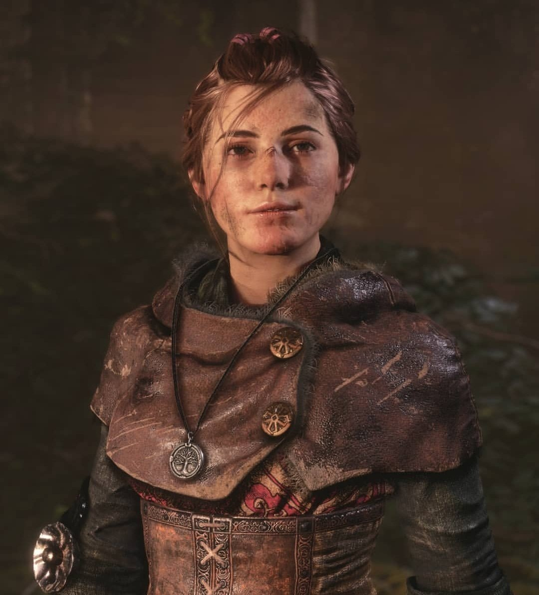 """A Plague Tale Community on Twitter: """"Amicia is a young, headstrong girl  with an assertive personality. She wants a life filled with adventure. She  shows a progressive attitude, but she is also"""