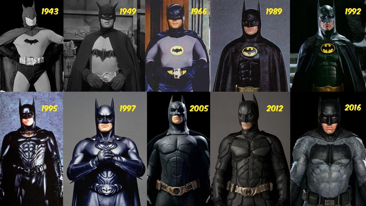 Hope youre having the happiest #Baturday Choose your favorite batsuit! And why?! #BatmanDay #BatmanDay2019 #Batman #Batman80th #SaturdayThoughts @MadCaveStudios @WolverSteve @schiekapedia @The1stBAT @pheltzcomics @ZakkisBatman @DT2ComicsChat