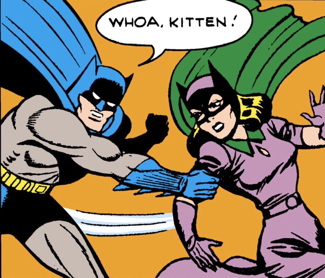 """People like, """"It's #Caturday!"""" and I'm like, """"Hold up, it's #BatmanDay!"""""""