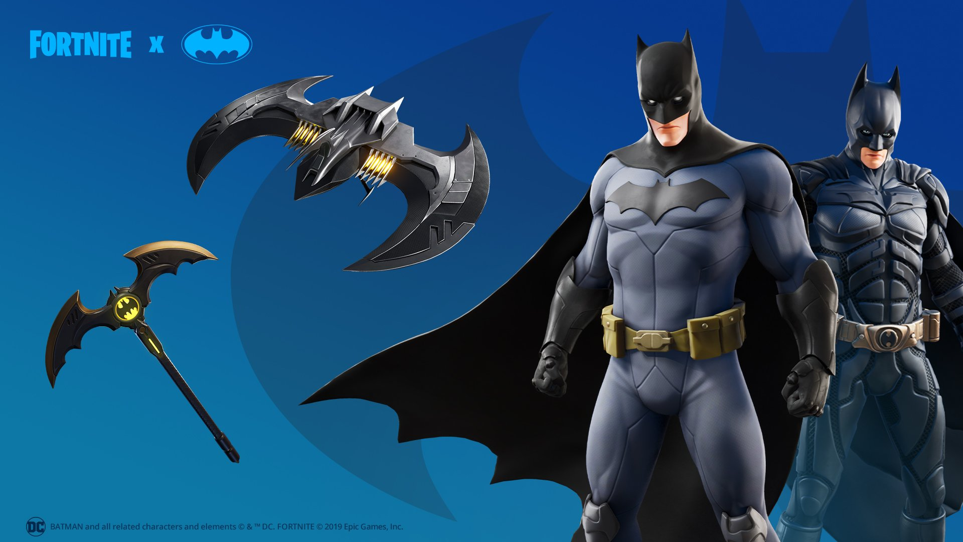 It S Always Darkest Before The Dawn Grab The Caped Crusader Bundle Including The Batman Comic Book Outfit The Dark Knight Movie Outfit The Batman Pickaxe And The Batwing Glider In The Store