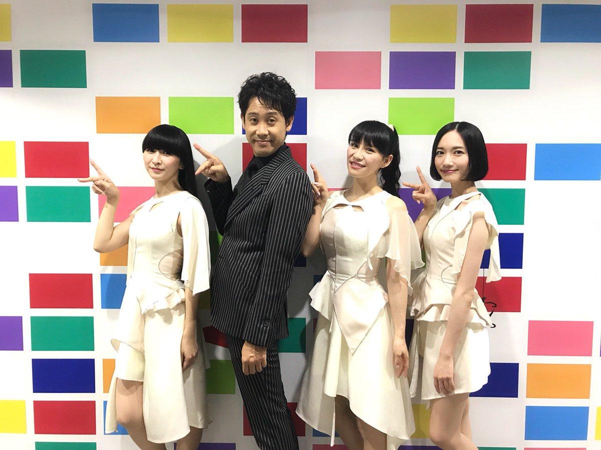 NHK総合「SONGS」に生出演させて頂きました!ご覧頂きました皆様、本当にありがとうございました。素晴らしいメジャーデビュー記念日を皆さんとお祝いでき、最高の一日となりました。なんと最後には大泉洋さんがサプライズ登場!メンバーも嬉しさひとしおでした🎊🎉#SONGS #prfm #PCubed #prfmBest