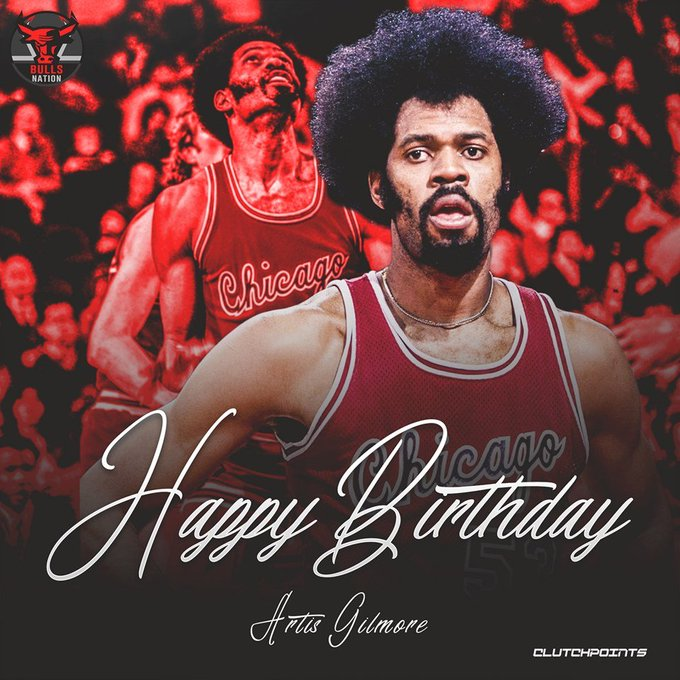 Join Bulls Nation in wishing Artis Gilmore a happy 70th birthday!
