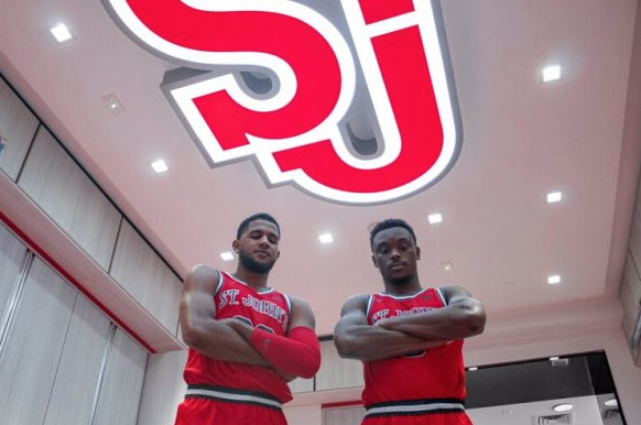 St Johns Red Storm reveal new #Nike basketball uniforms #ncaa #stjohns Pics, story: news.sportslogos.net/2019/09/21/st-…