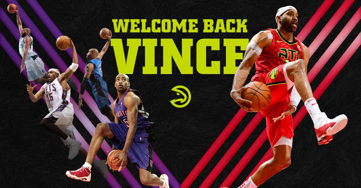 Help us wish Vince Carter back for a record-breaking 22nd season!