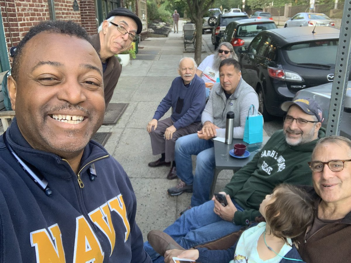 Hanging with the Philadelphia Adults of the Resistance @HighPointCafe on Carpenters Lane in Mt Airy ... my favorite political cafe. My political commentary embargo ends today.<br>http://pic.twitter.com/cKMfz1hjVk