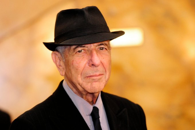 Happy Birthday to Leonard Cohen!  We miss you!