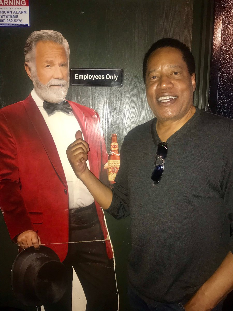 The Most Interesting Man In The World—and some dude in a red jacket. #WeveGotACountryToSave