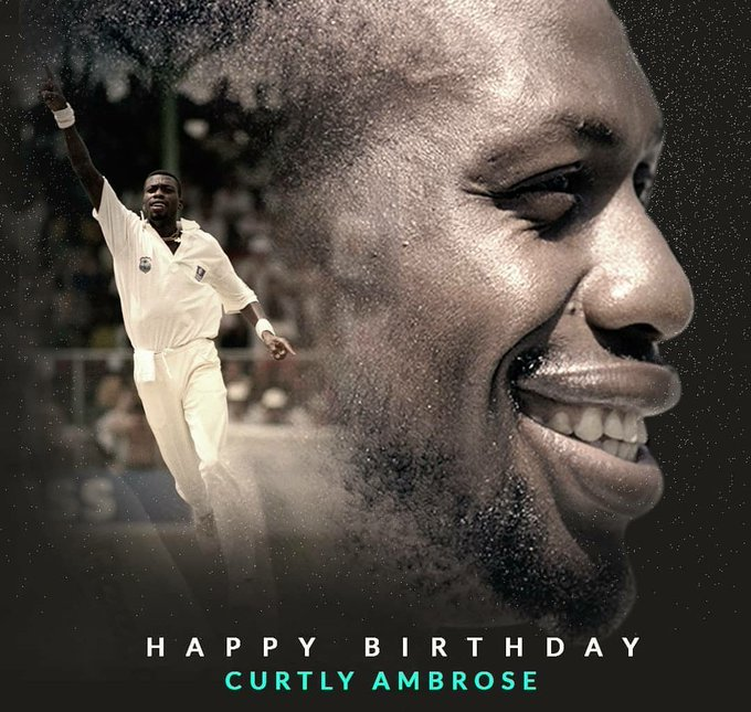 Happy birthday legend curtly ambrose sir