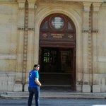 Image for the Tweet beginning: Envoyé spécial de Montpellier pour