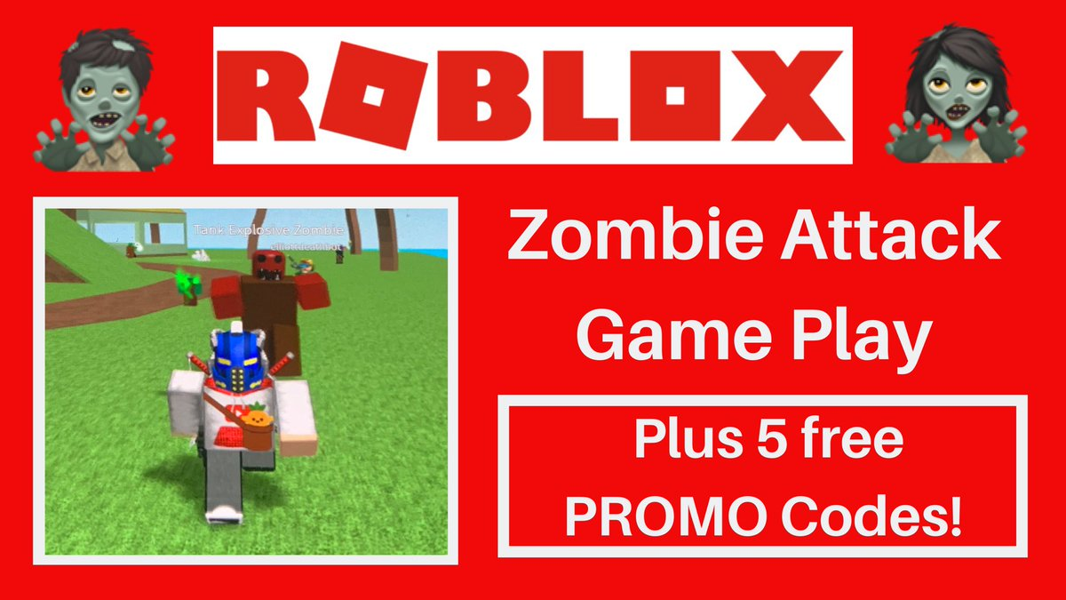 Deathbotbrothers On Twitter Roblox Promo Codes And Zombie Attack