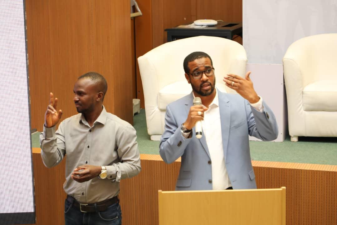 #NITDA is doing a lot to support the Future of Work. DG, NITDA, @k_inuwa, represented by @abba_da, Head of Special Duties Unit, at the Mandela Washington Fellowship Alumni Event, CBN Training Institute, Abuja. #NITDA, #NITDA19, #YLANigeria2019