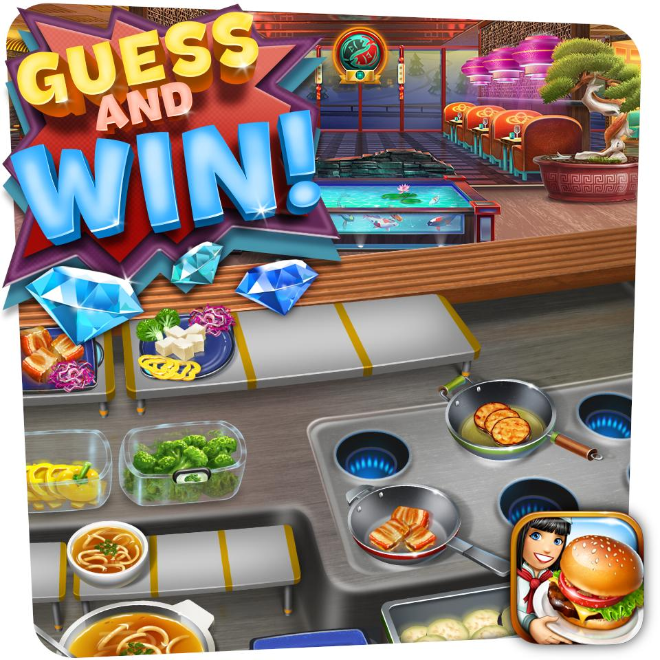 It's the last chance to guess the name of the new restaurant! One closest answer will win 500 gems  We'll announce the winner and reveal the restaurant very very soon, so stay tuned! https://t.co/c0L0zer5ao