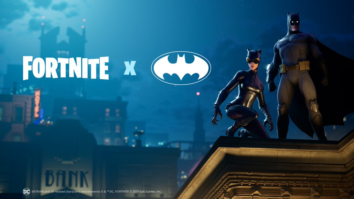@FortniteGame's photo on #FortniteXBatman