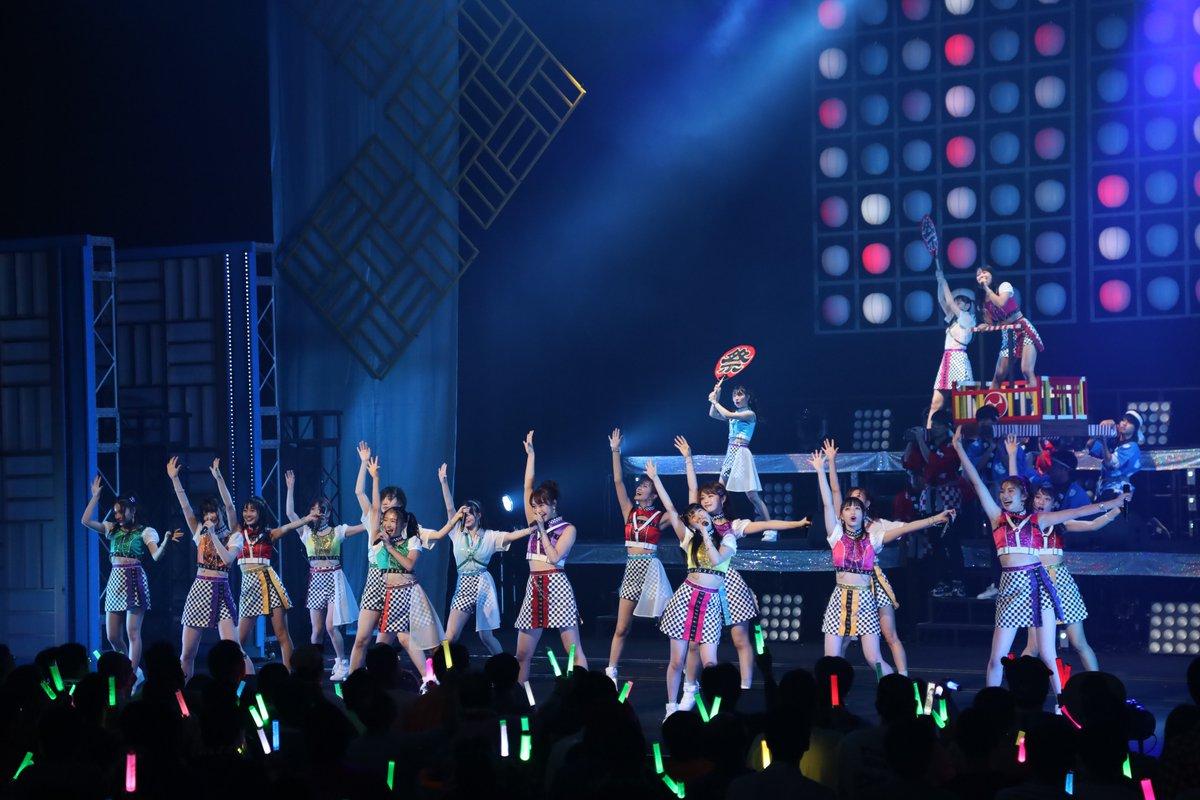 21日(土)『NMB48 LIVE TOUR 2019 〜NAMBA祭〜』in愛知県芸術劇場 大ホール皆様のお陰で千秋楽を迎えることが出来ました!ご来場頂きました皆さま、誠にありがとうございました!10月5日(土)「NMB48 9th Anniversary LIVE」in大阪城ホールもお楽しみに✨#NMB48 #NAMBA祭