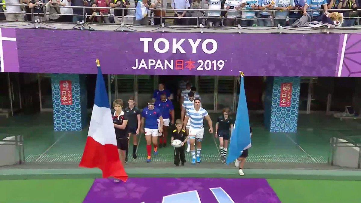 🇫🇷🇦🇷 Les Bleus ont entamé leur Coupe du Monde par une victoire ce matin à Tokyo ! Les meilleurs moments du match sont ici ! 😀 #NeFaisonsXV #RWC2019 #FRAvARG #XVdeFrance