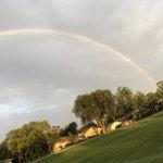 Image for the Tweet beginning: Enjoying a Beautiful Rainbow this