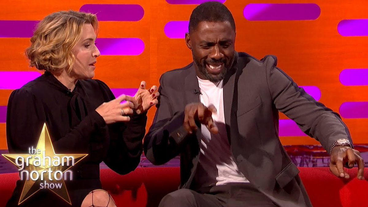 Idris Elba Has A Foot Fetish | The Graham Norton Show - https://t.co/2KFbKpcnXr #GrahamNorton #comedy https://t.co/MeCl99tgSV