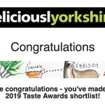 Image for the Tweet beginning: Really pleased to be shortlisted