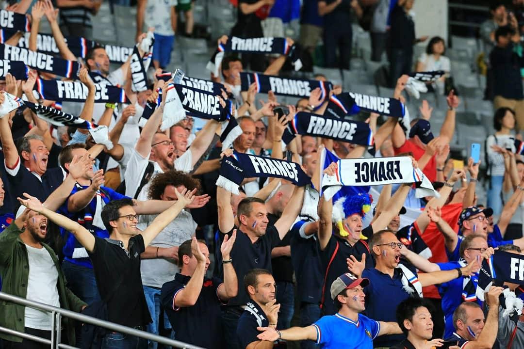 Belle victoire ce soir ! Merci pour votre soutien, que ce soit au stade ou devant votre écran. 🇫🇷 #equipedetoka #NeFaisonsXV #RWC2019