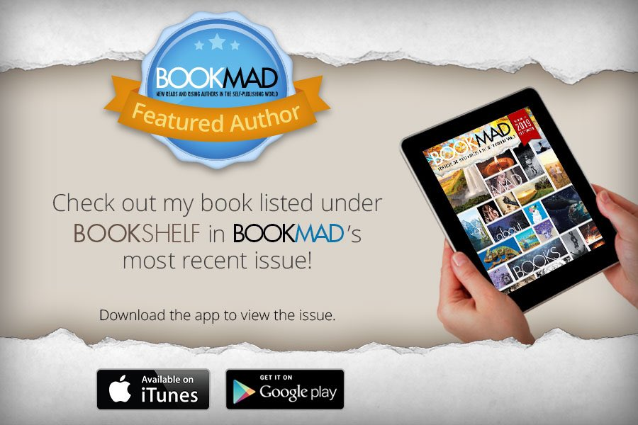 My BookMad ad is out. Please check it out and check out the book too