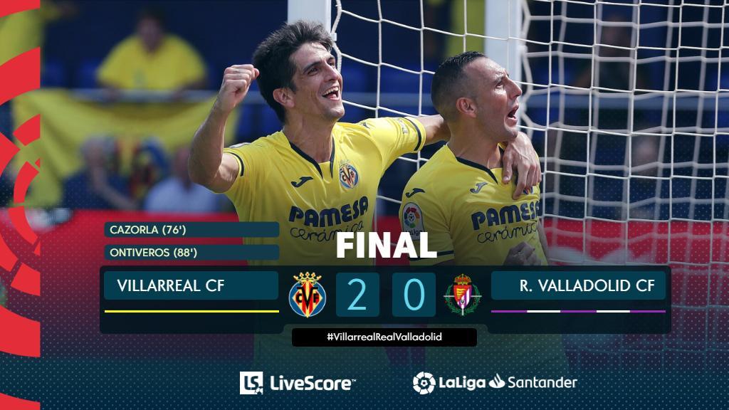Villarreal-Valladolid