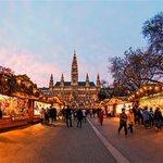 Image for the Tweet beginning: Christmas markets... snow-dusted squares... mulled