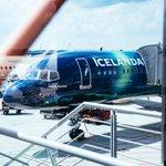 Image for the Tweet beginning: Icelandair mit schicker Aurora-Lackierung. Wer