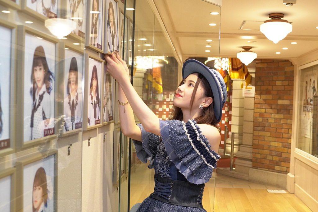 SKE48メンバーとして最後の仕事。壁写真外しも終わりました#北川綾巴卒業公演
