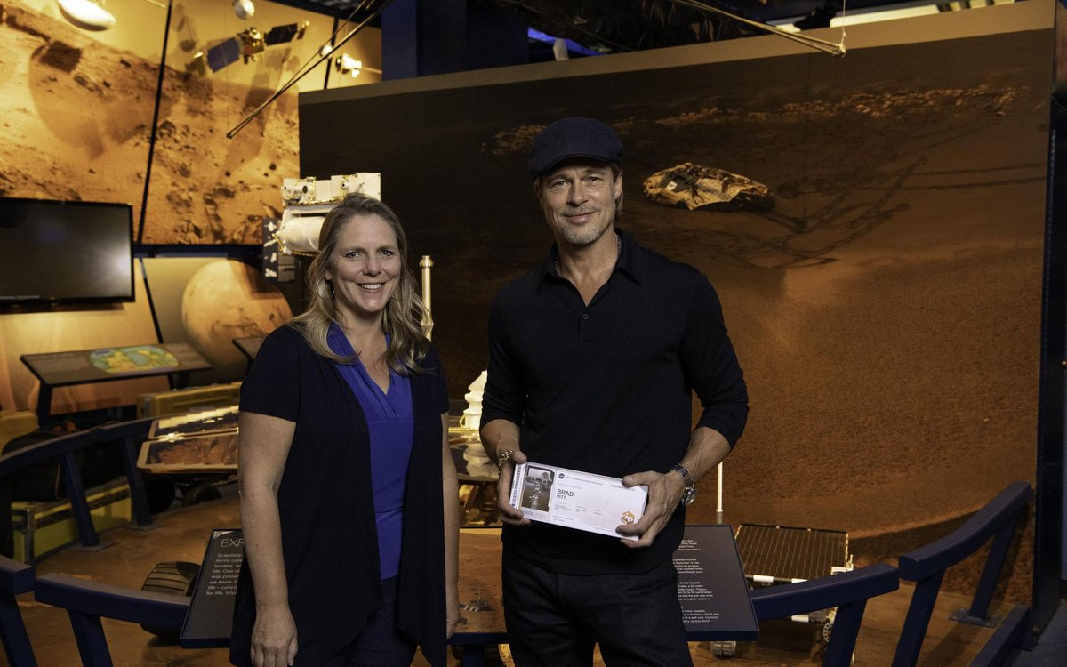 Show us your ticket! Join Brad Pitt, William Shatner, Snoopy and around 10 MILLION of your closest Earthling friends in sending your name to Mars aboard our next rover, #Mars2020. Get your boarding pass by Sept. 30: go.nasa.gov/Mars2020Pass