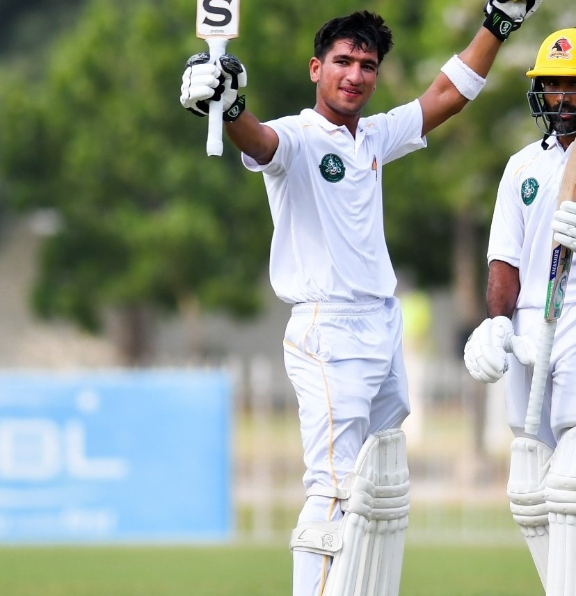 An excellent innings today of 133 (15 fours and 2 sixes) by Omair Yousaf for Sindh versus KPK. Omair's batting heroes include Virat Kohli, Hashim Amla & Kane Williamson (pic via PCB) http://www.pakpassion.net/literature/talent-spotter/6988-talent-spotter-omair-yousuf.html… #Cricket #QeA19