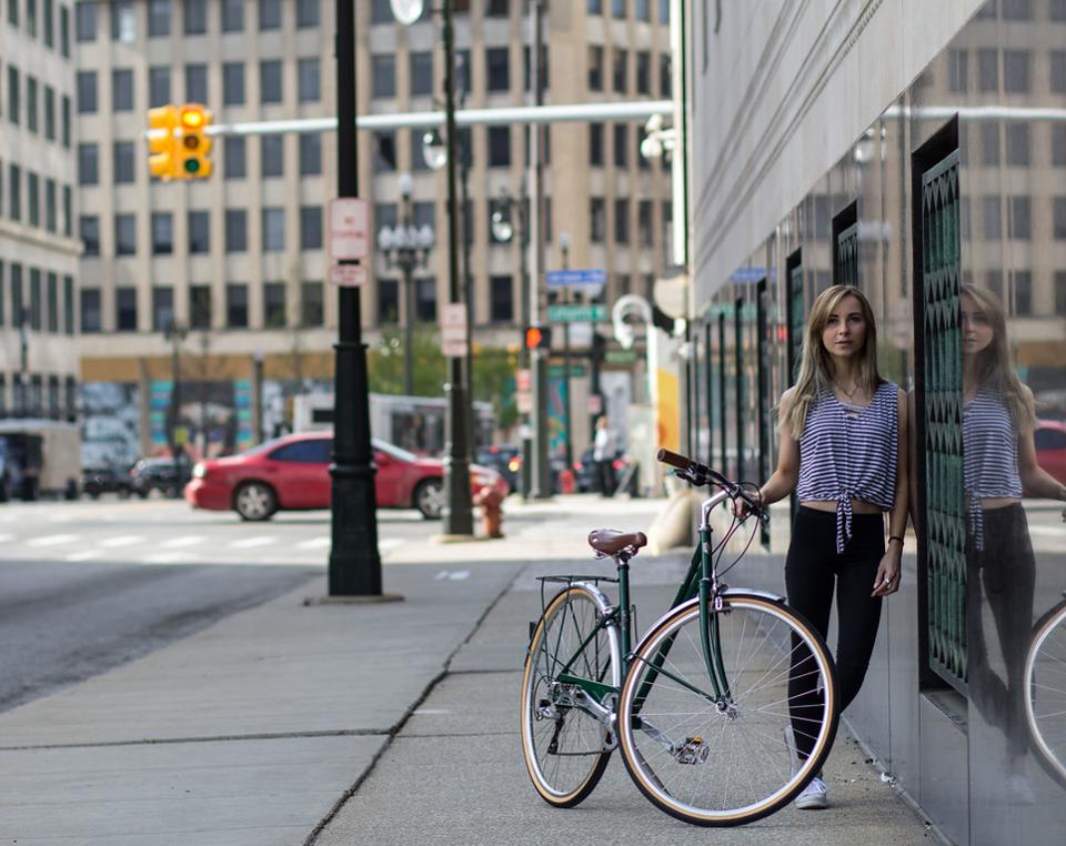 Promoting urban cycling by revitalizing U.S. bicycle manufacturing: http://on.forbes.com/601416evo