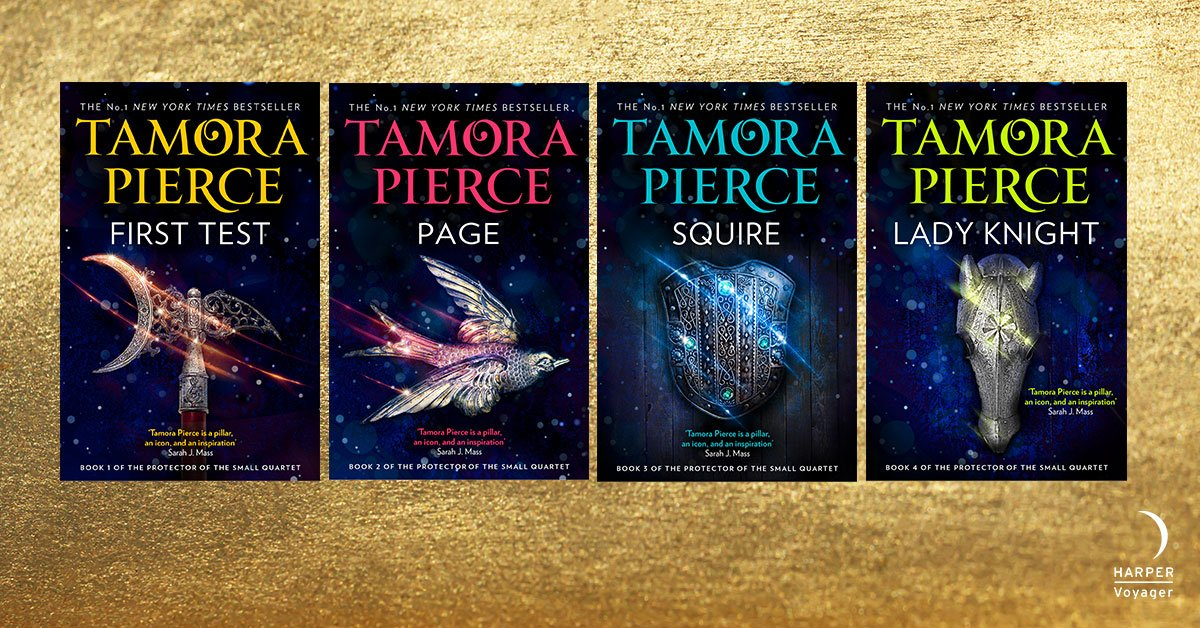 '@TamoraPierce creates epic worlds populated by girls and women of bravery, heart, and strength. Her work inspired a generation of writers and continues to inspire us.' HOLLY BLACK @hollyblack Be inspired too! The #ProtectorOfTheSmall Quartet smarturl.it/SmallQuartet