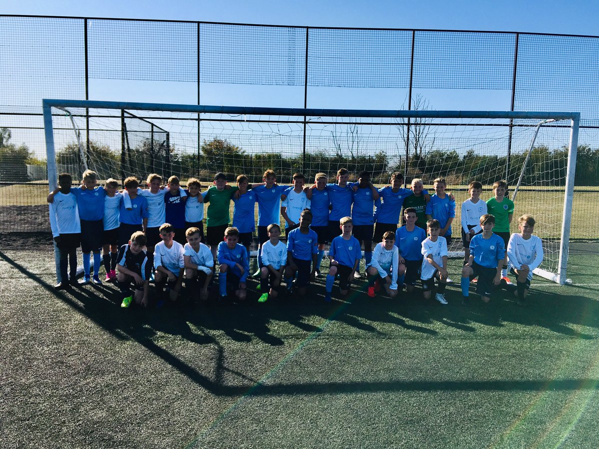 This morning saw our u12s and 13s play against each other . Well done to all of the players on both age groups. Some of the football . Big thanks to all the parents for the great support too @kentschools_fa @psdf7<br>http://pic.twitter.com/tSlWLKB4Lv