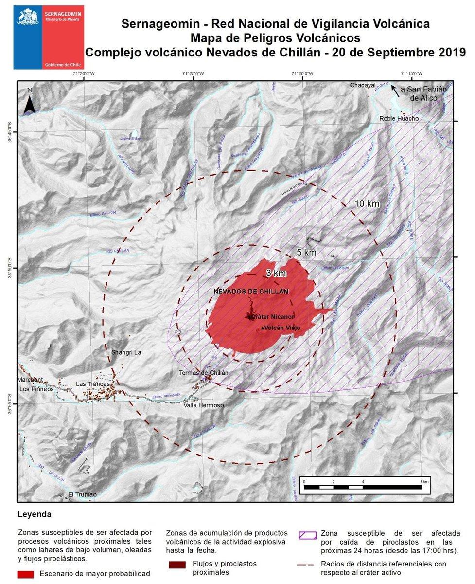 RT @onemichile #YoMePreparo El Volcán #NevadosDeChillán es monitoreado las 24 horas por @Sernageomin. Si vas a la zona, ten en cuenta nuestras recomendaciones e infórmate de los planes comunales de evacuación https://t.co/MMWS3imXKf