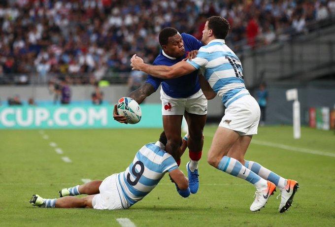 #Rugby | #CopadelMundo: Argentina pagó caro sus errores, cayó con Francia y complicó la clasificación