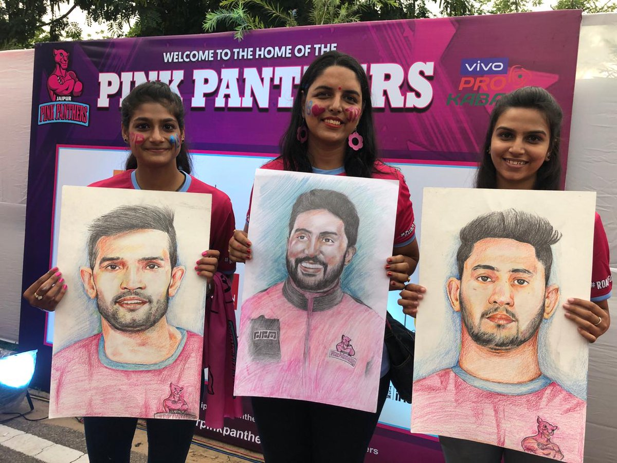 The Panthers Pack has reached the stadium to cheer the #TopCats as they begin their home leg in #VIVOProKabaddi Season 7.  You too can cheer for your team by clicking on . JOIN NOW and get a chance to watch the Final, LIVE.