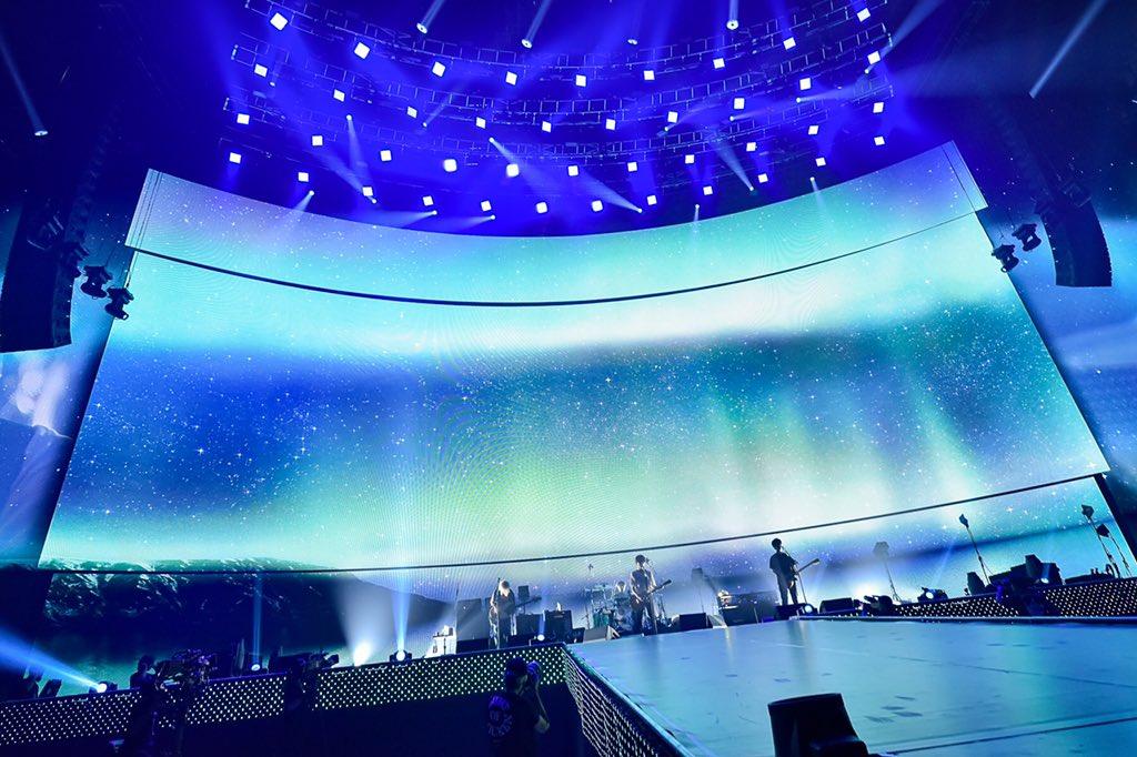 「BUMP OF CHICKEN TOUR 2019 aurora ark」ナゴヤドームDAY 1終了!皆さんありがとうございました。本日の様子も古溪一道さん撮影の写真でどうぞ!明日は天候が崩れそうな予報です。お越しになる方はお気をつけて #auroraark
