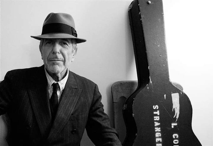 Happy Birthday Leonard Cohen.