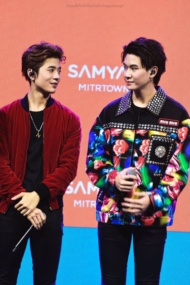 210919 ㅡ Samyan Mitrtown   ♡  We are the perfect two     #XXSIVK  #JackieJackrin  #TRINITY_TNY  #SamyanMitrtownxTrinity <br>http://pic.twitter.com/LTQw4BJOkm